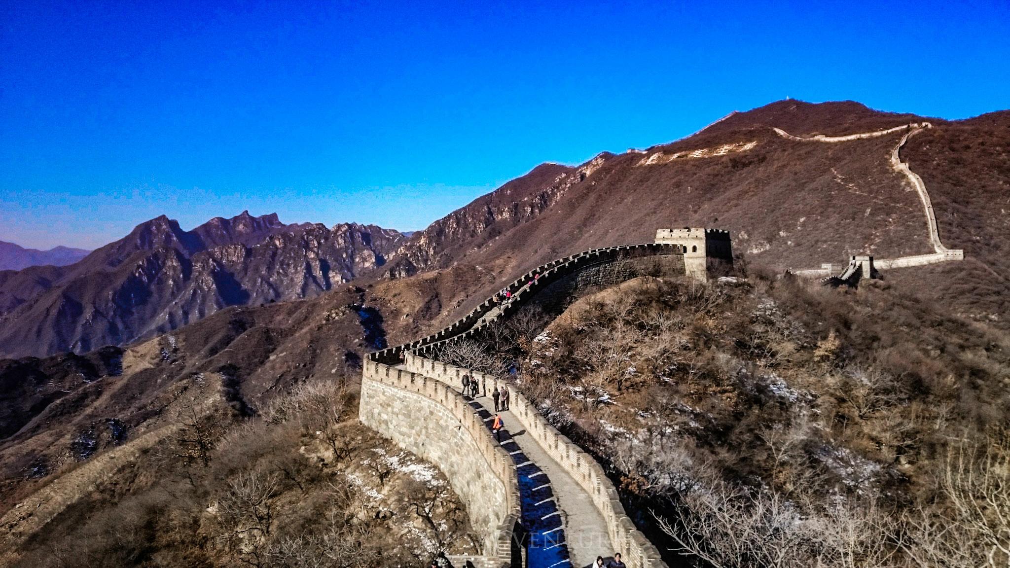 Grande Muraglia Cinese: Sezione di Mutianyu