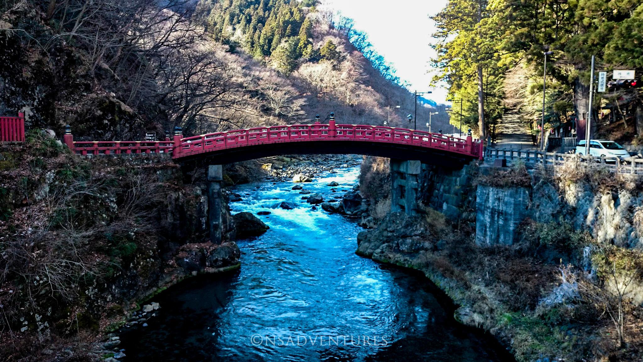 Cosa vedere a Nikko: Shinkyo Bridge