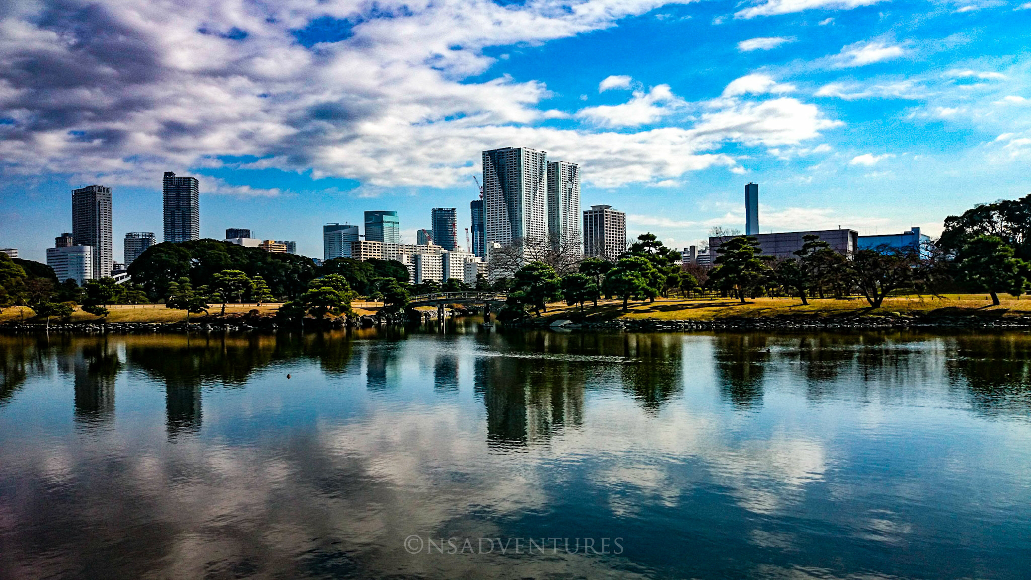 Come usare Google Maps: View from Hama Rikyu Gardens