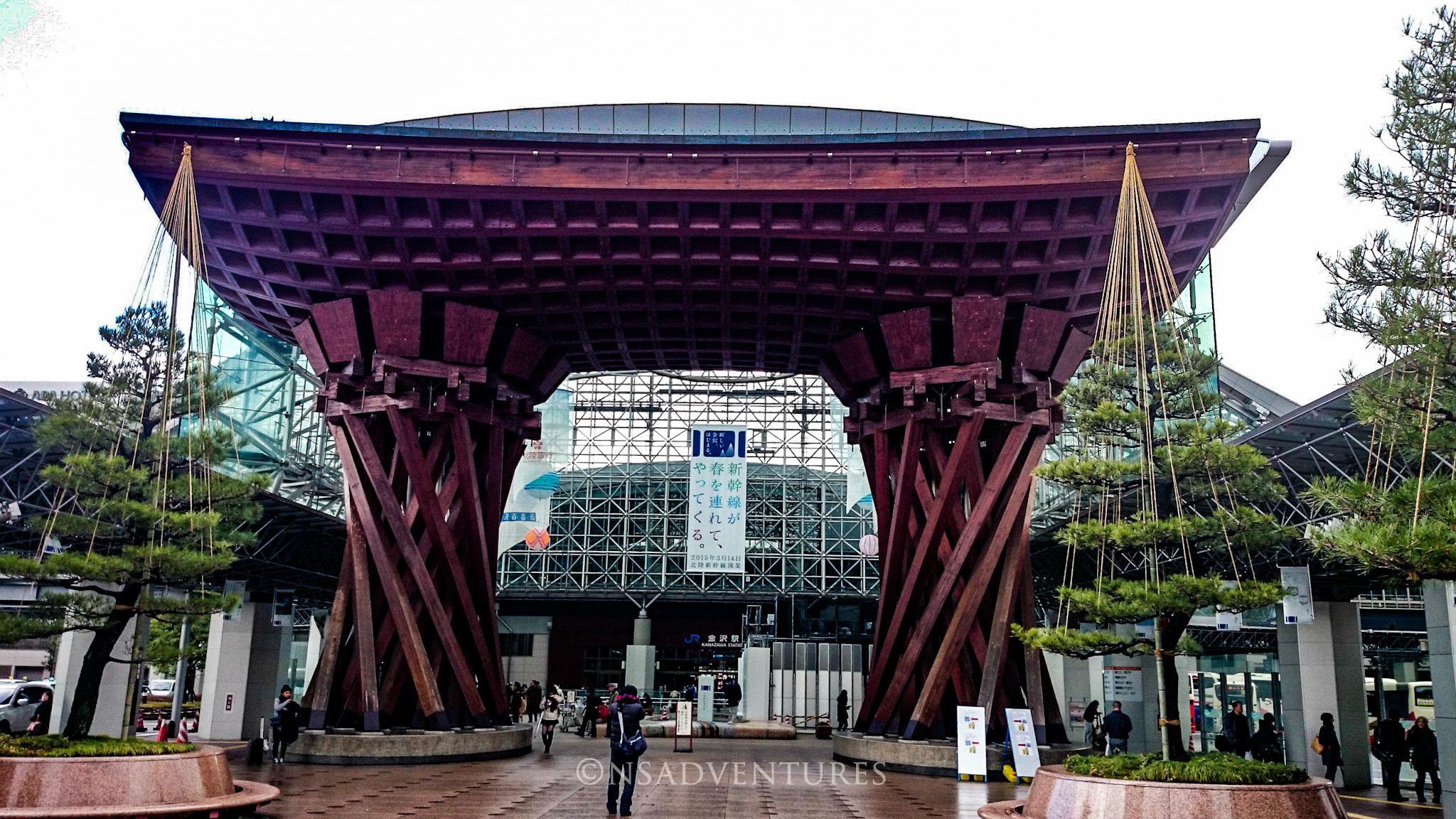 Come muoversi in Giappone: Kanazawa Train Station