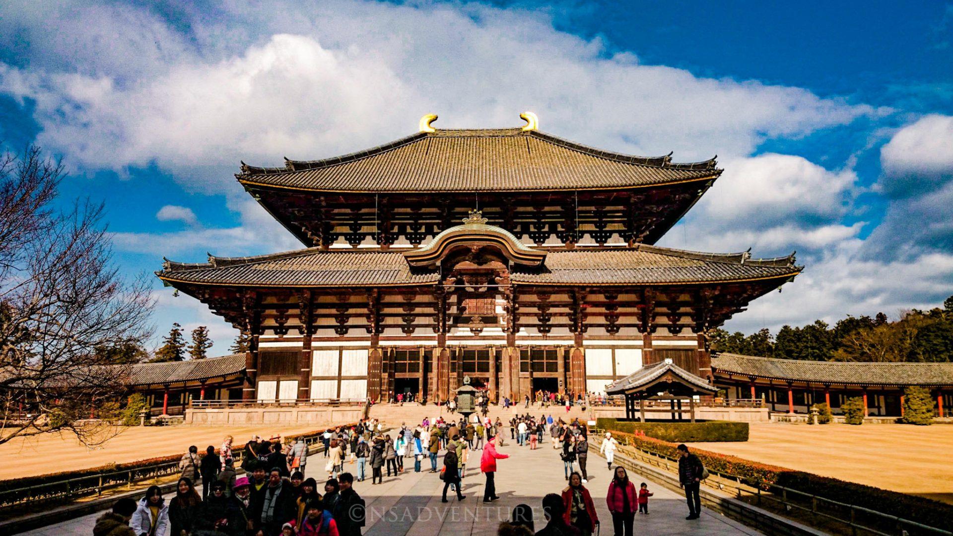 Cosa vedere a Nara: Tempio Todaiji
