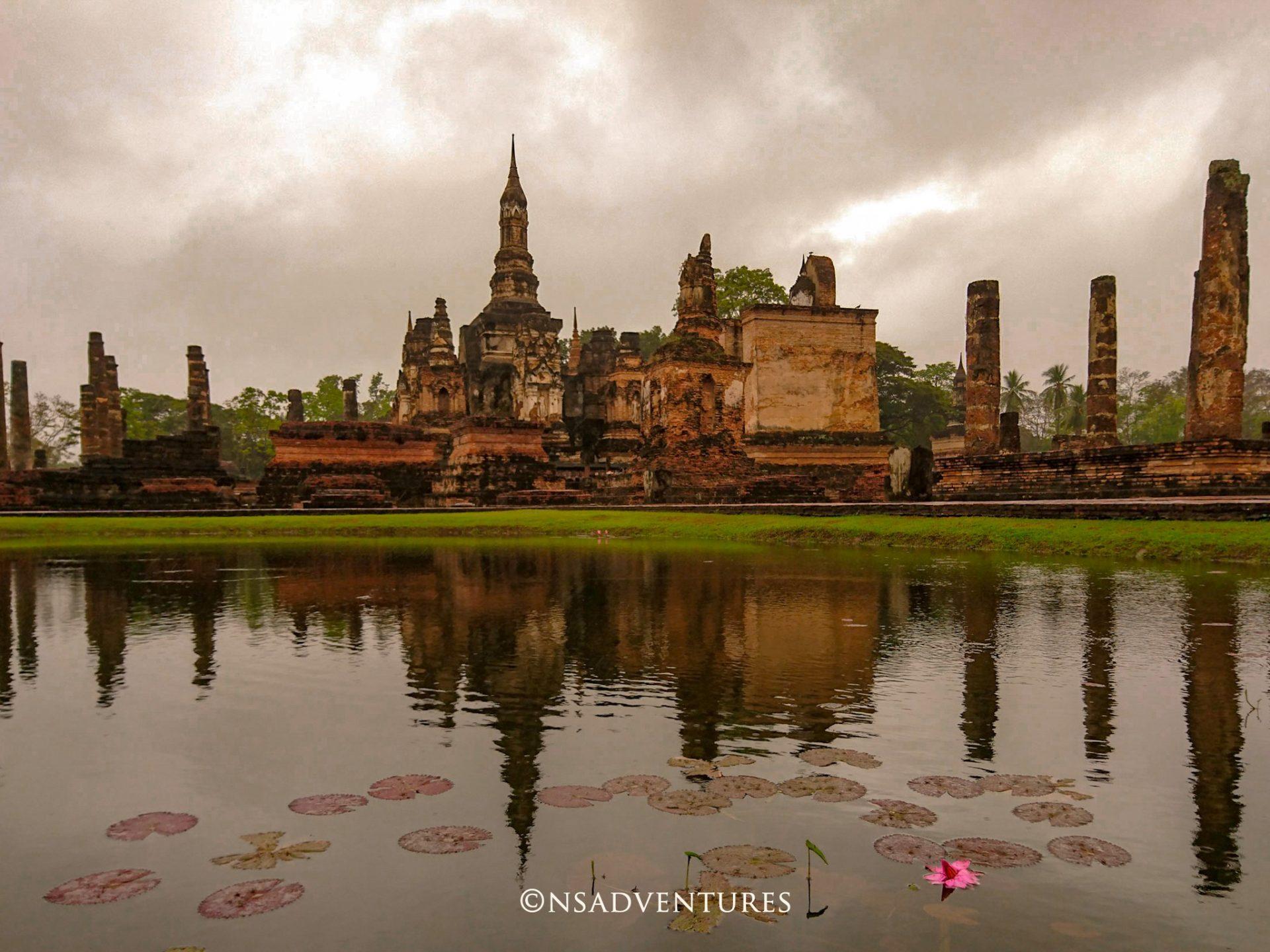 Parco storico di Sukhothai: un'immagine unica di una delle sue più grandi attrazioni
