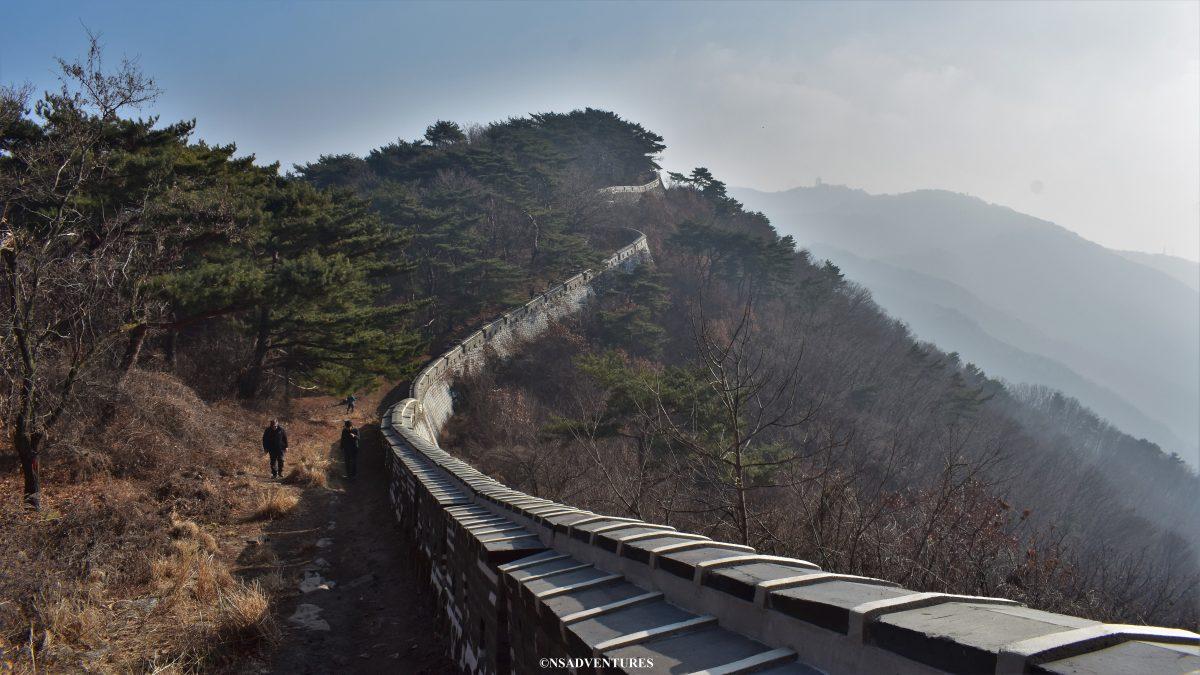 Viaggio a Namhansanseong, Fortress Wall