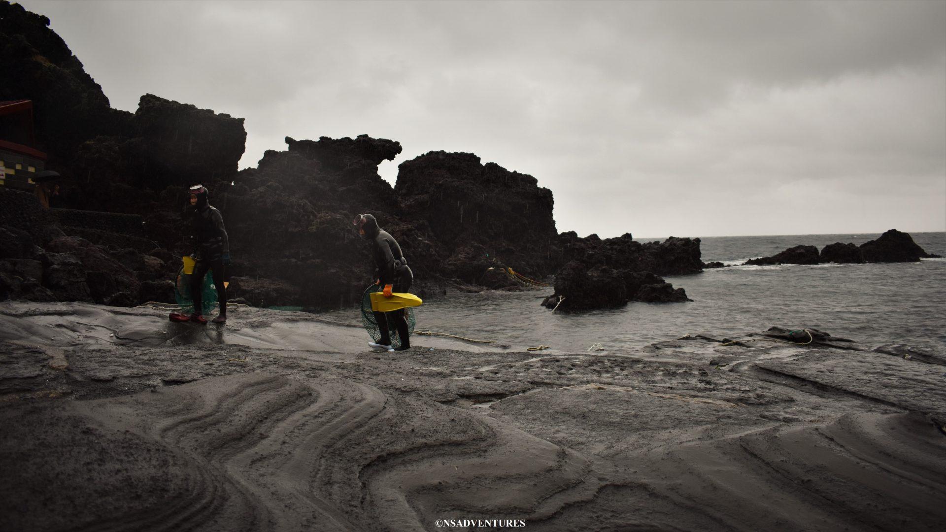 Viaggio a Jeju: Haenyeo Divers