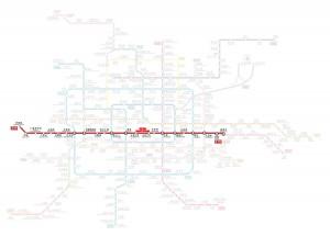 Pechino Metropolitana Linea 1